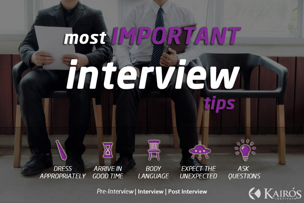 Most Important Job Interview Tips